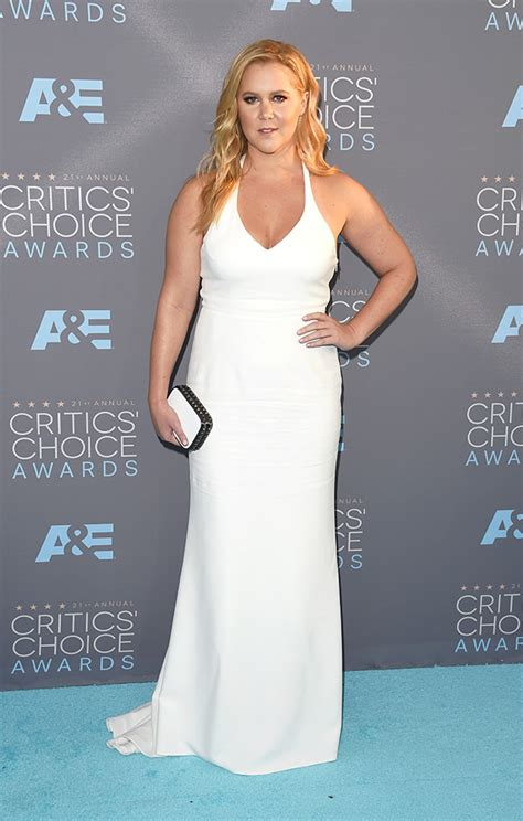 Critics Choice Awards Snow by Schumer Pics