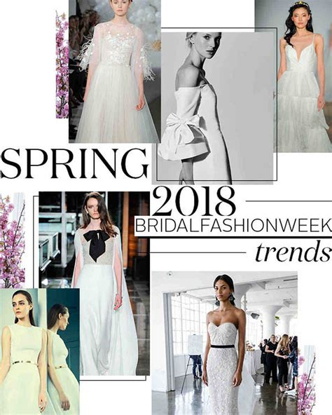 springtime ideals 2018 books 10 wedding dress trends from 2018 bridal fashion