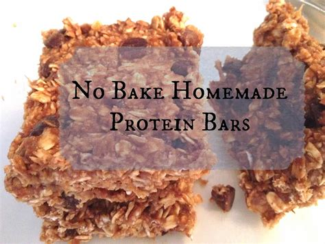 diy protein bars the simple life no bake homemade protein bars