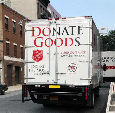 Salvation Army Up by Salvation Army Up Truck Editorial Photo Image