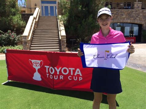 Toyota Tour Cup The Holes Out At Toyota Tour Cup George Pinnell