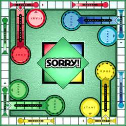 Sorry Board Card Template by Sorry The Isa
