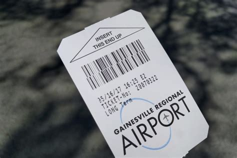 How To Pay Late Mba Parking Ticket by 49k Is Missing From The Gainesville Regional Airport