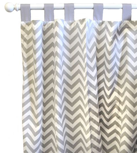 zig zag drapes zig zag baby curtain panels