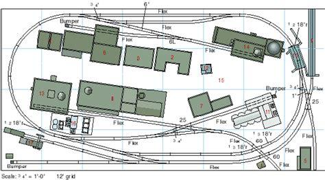 layout none rails train toy ho rail track plans design layout plans pdf