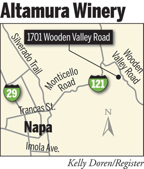 Napa Court Records Napa County Challenges Altamura Winery