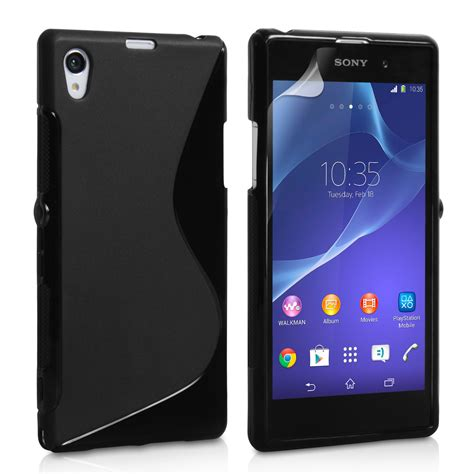 Silicon Casing Softcase Line Sony Xperia Z2 Mini caseflex sony xperia z2 silicone gel s line black