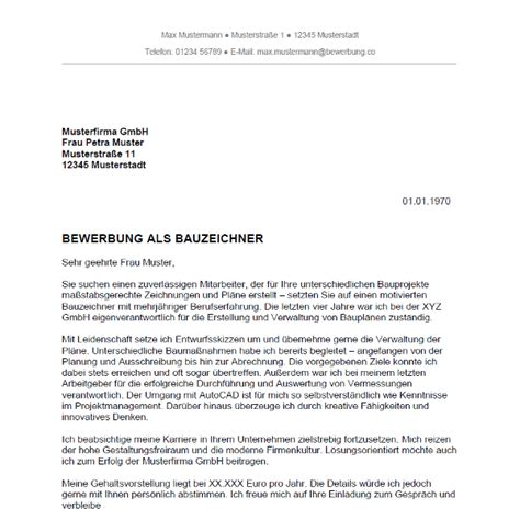 Anschreiben Bewerbung Ausbildung Bauzeichner Bewerbung Als Bauzeichner Bauzeichnerin Bewerbung Co