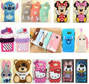 Softcase 3d Disney 3d disney silicone soft cover for samsung galaxy s6 edge plus