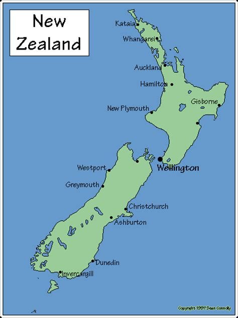map new zealand map of new zealand inquisitive bird