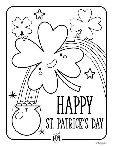 coloring pages for st s day 12 st s day printable coloring pages for adults