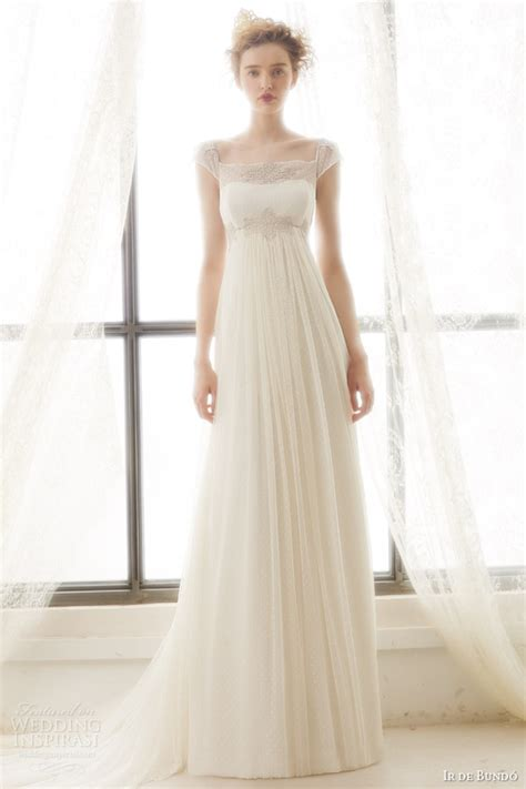 Empire Wedding Dress by Ir De Bundo 2015 Wedding Dresses Bridal