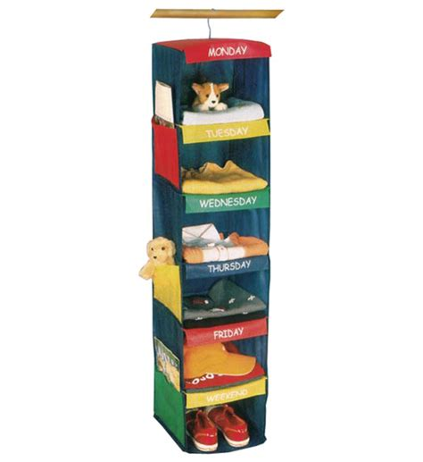 Weekly Closet Organizer by Daily Activity Closet Organizer For In Closet