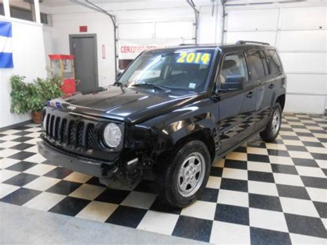 Jeep Patriot 2014 Mpg Find Used 2014 Jeep Patriot 1 557 No Reserve Salvage