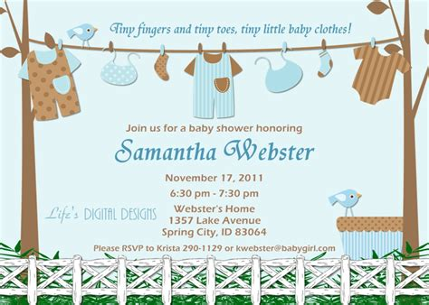 Invitation Template For Baby Shower by Free Baby Boy Shower Invitations Templates Baby Boy
