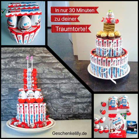 Geburtstagsgeschenke Zum Selber Machen by Kinderriegel Torte Selber Basteln In Nur 30 Minuten