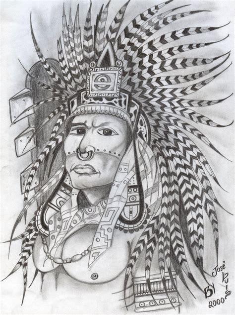 Aztec Warrior By Yandereraptor On Deviantart Aztec Warrior Sketches