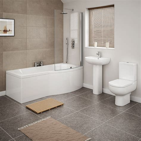 Modern Bathroom Suites Cruze 4 Modern Bathroom Suite Now At Plumbing Co Uk