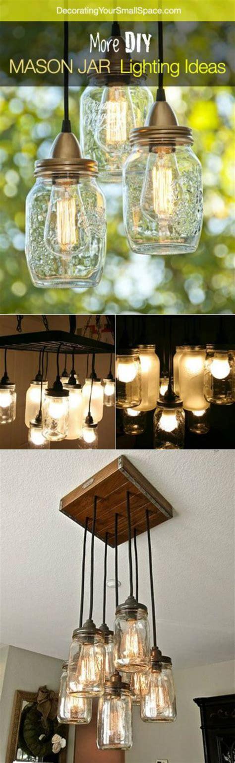 mason jar lighting lighting ideas and mason jars on pinterest