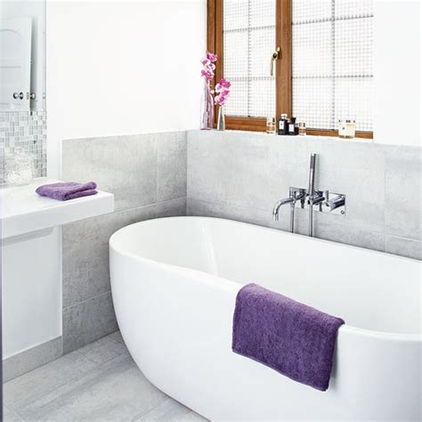 grey and white bathroom accessories grey and white bathroom with jewel coloured accessories