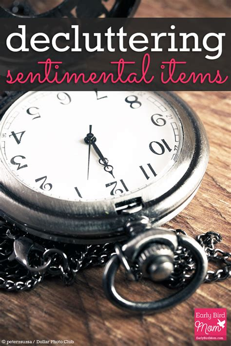 decluttering sentimental items decluttering sentimental items early bird mom