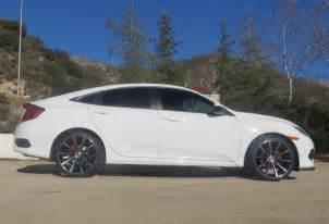 New deep concave custom 19 inch wheels on lx 2016 honda civic forum