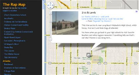maps mania: rapping google maps
