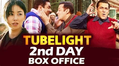 s day box office results salman s tubelight 2nd day box office collection