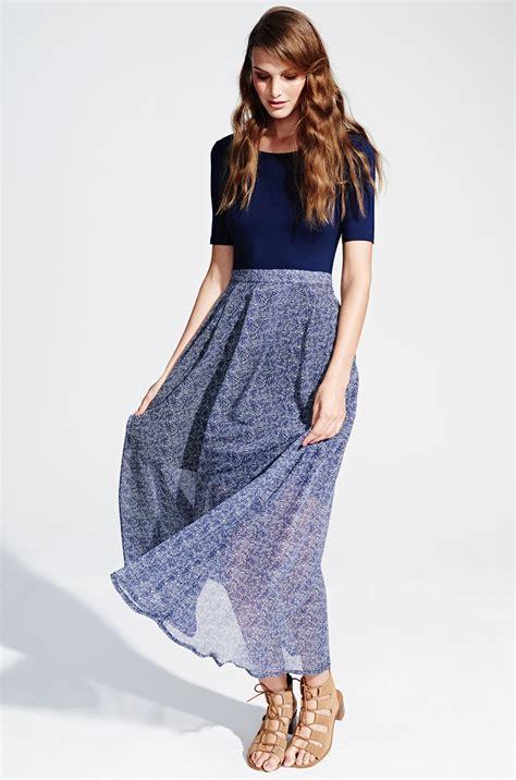 Dress Fashion To blue maxi dress with sleeves by kala fashion kala