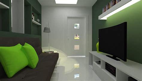 sala pequena  estreita dicas de arquitetura