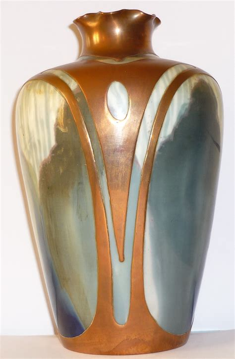 A L From A Vase by File Vase Rosenthal Nouveau Vers 1900 H 18 Cm Jpg