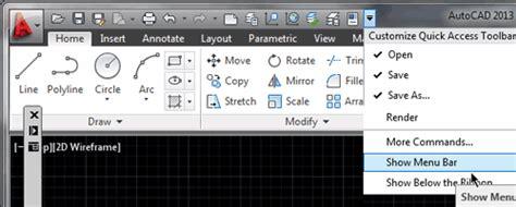 fungsi layout pada autocad cara memunculkan menu bar autocad tutorial autocad x