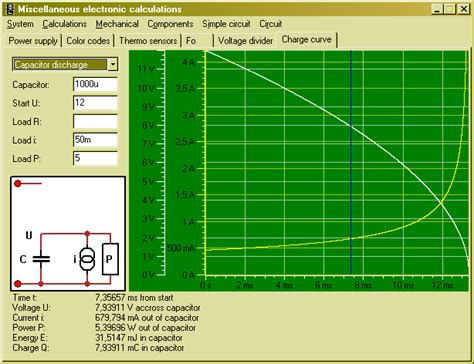capacitor inductor different miscel charge curve
