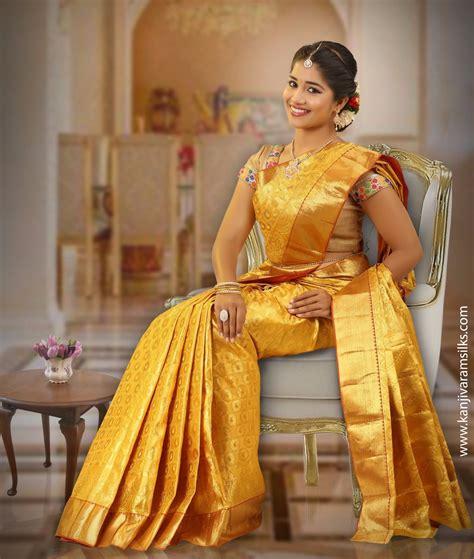 golden colour wedding saree  full gold zari ablfa
