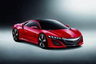 new acura car acura nsx concept is a hybrid supercar photos and details