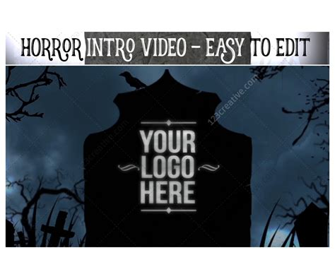 After Effects Animation Templates by After Effects Template Horror Intro Animation