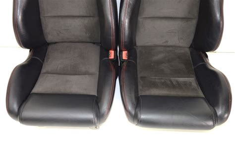 alcantara leather upholstery viper srt 10 seats leather alcantara seats with red