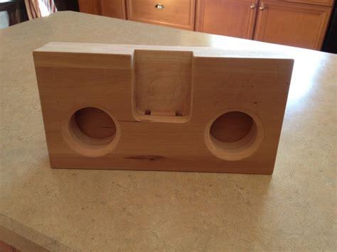 iphone amplifier speaker   wood woodwork city