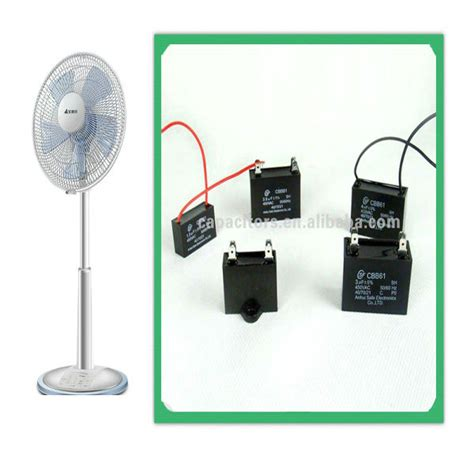 capacitor fan ac sh capacitor cbb61 of ac motor for fan use china mainland capacitors