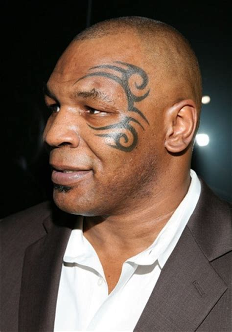 mike tyson face tattoo removed top 10 worst tattoos class fashionista