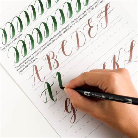 tutorial brush pen lettering 42 best calligraphy tutorials images on pinterest