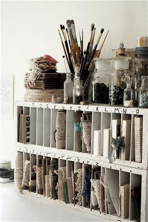studio organization ideas craft and diy ideas 095