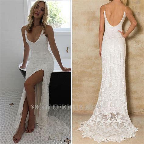 Hochwertige Hochzeitskleider by Find More Wedding Dresses Information About Boho Lace
