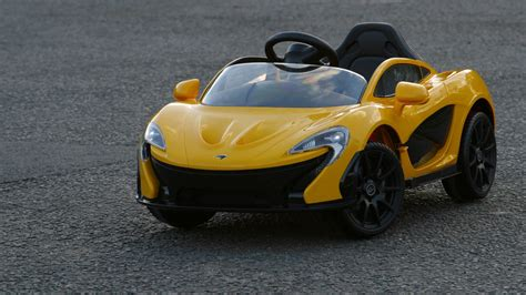 ride on mclaren p1 2017 electric car review