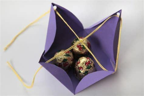 Diy Cute Simple Pyramid  Ee  Gift Ee   Box Good Home Diy