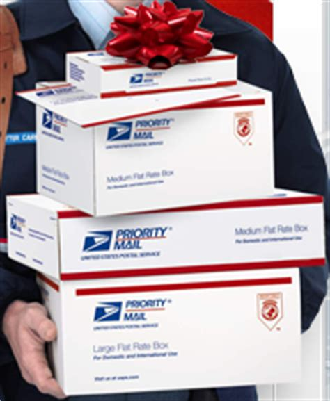 free holiday flat rate shipping kit from usps!! clever