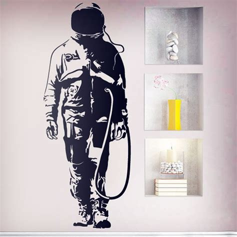 graffiti wall sticker banksy wall stickers