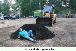 1 Cubic Yard Of Dirt Cubic Yard Explained