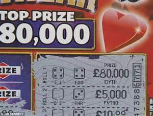 printing error robs pensioner   lottery win