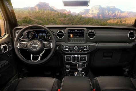 2017 jeep wrangler dashboard 2018 jeep wrangler unveiled evolution of a legend autobics